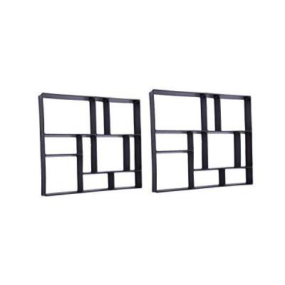 [新品]長方形 DIY ペイブメント モールド ウォークメーカー パスメーカー レンガ型 コンクリートフォ