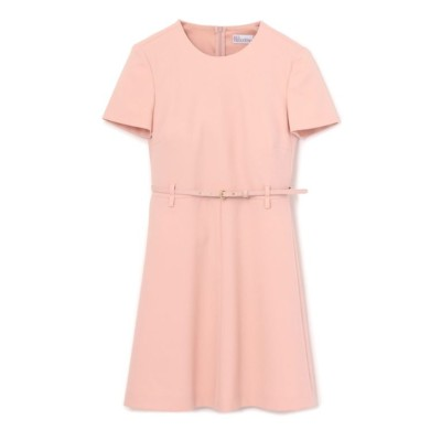 【RED VALENTINO】ウエストマークピンクドレス