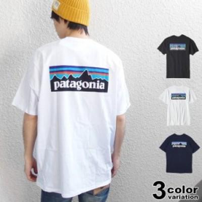 patagonia パタゴニア Tシャツ 半袖 P-6 ロゴ レスポンシビリティー Tシャツ EUライン メンズ レディース [38504]