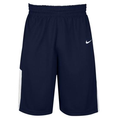 ナイキ Nike メンズ バスケットボール ショートパンツ ボトムス・パンツ Team Elite Franchise Shorts Navy/White
