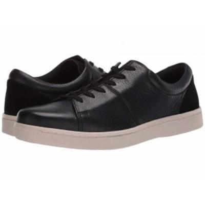 Clarks クラークス メンズ 男性用 シューズ 靴 スニーカー 運動靴 Kitna Vibe Black Leather/White Outsole【送料無料】