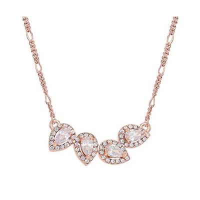 Montana Silversmiths Rose Gold Teardrop Bar Necklace