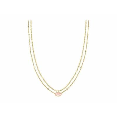 ケンドラスコット ネックレス・チョーカー・ペンダントトップ アクセサリー レディース Emilie Multi Strand Necklace Gold Rose Mother-of-Pearl