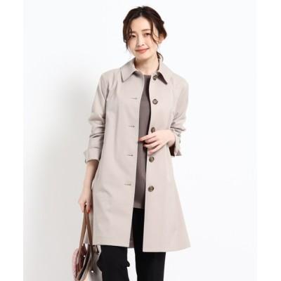 Reflect / 【撥水/花粉プルーフ】ステンカラーコート WOMEN ジャケット/アウター > ステンカラーコート