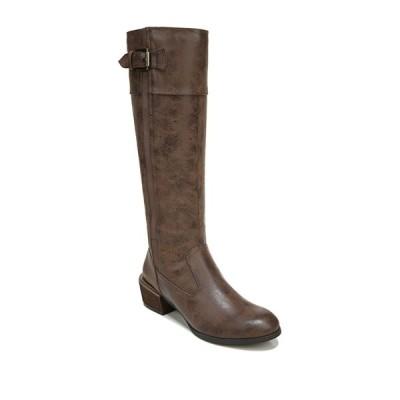 ソウルニュトライザー レディース ブーツ&レインブーツ シューズ Dusk Riding Boot - Wide Width Available MID BROWN