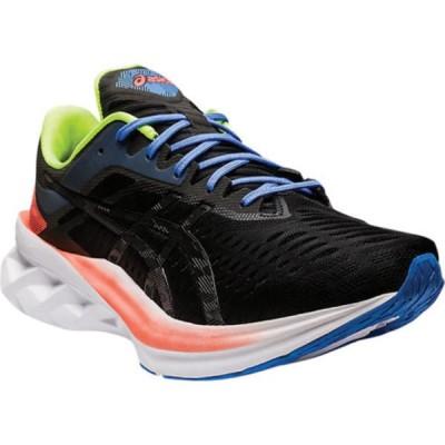 アシックス スニーカー シューズ メンズ Novablast Running Sneaker (Men's) Black/Black