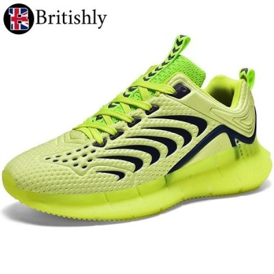 Britishly(ブリティッシュリィ) Kuggar Green Luminous Low-cut Shoes 6cmアップ 英国式シークレットシューズ
