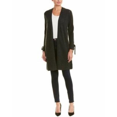 ファッション トップス Incashmere Tie-Sleeve Wool & Cashmere-Blend Cardigan