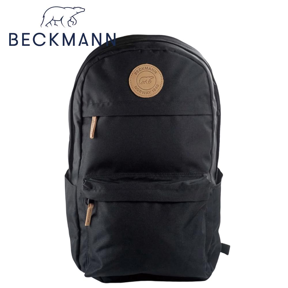 【Beckmann】成人護脊後背包College 34L - 沉黑