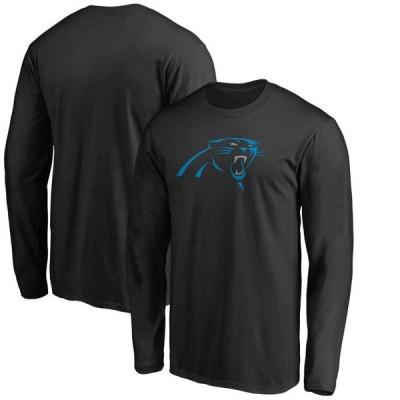 ユニセックス スポーツリーグ フットボール Carolina Panthers NFL Pro Line by Fanatics Branded Big & Tall Primary Logo Long Sleeve T-