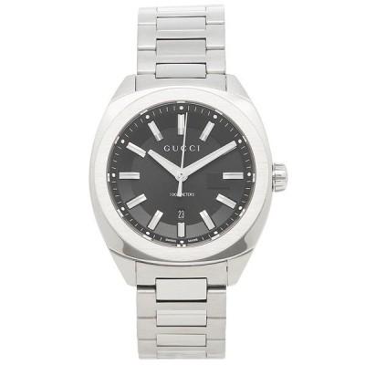 グッチ 腕時計 レディース/メンズ GUCCI YA142401 ブラック シルバー