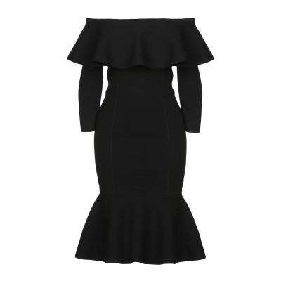 マイケル・コースコレクション MICHAEL KORS COLLECTION ミニワンピース&ドレス ブラック XS レーヨン 82% / ポリエス