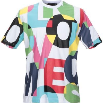モスキーノ LOVE MOSCHINO メンズ Tシャツ トップス t-shirt White