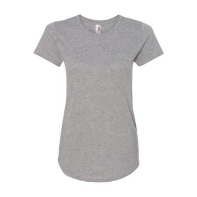 レディース 衣類 トップス 6750L - Women's Triblend T-Shirt - Anvil - MF グラフィックティー