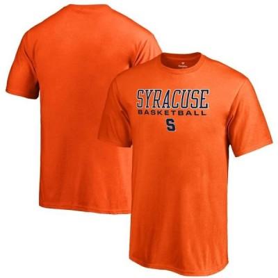 キッズ スポーツリーグ アメリカ大学スポーツ Syracuse Orange Fanatics Branded Youth True Sport Basketball T-Shirt - Orange