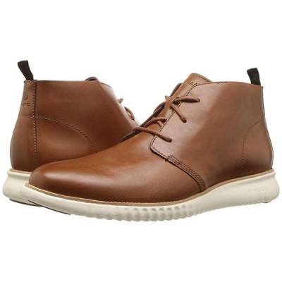 コールハーン 2.Zerogrand Chukka メンズ ブーツ British Tan Leather/Ivory