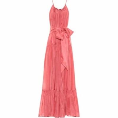 カリタ Kalita レディース ワンピース マキシ丈 ワンピース・ドレス Genevieve silk maxi dress pink salt
