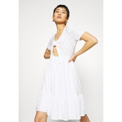 ヴィラ レディース ワンピース トップス VIKAWA FESTIVAL TIE DRESS - Day dress - snow white snow white