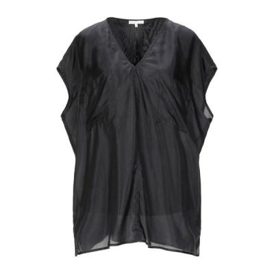 GOLD HAWK シルクシャツ&ブラウス  レディースファッション  トップス  シャツ、ブラウス  長袖 ブラック