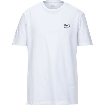 イーエーセブン EA7 メンズ Tシャツ トップス t-shirt White