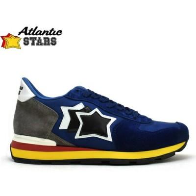 アトランティックスターズ Atrantic STARS ANTARES NN-89B ブルー/グレーメンズ スニーカー