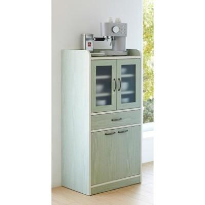 家具 収納 キッチン収納 食器棚 キッチンストッカー 食品ストッカー キッチン収納ミニ食器棚シリーズ キャビネット大(高さ120.5cm) 550723