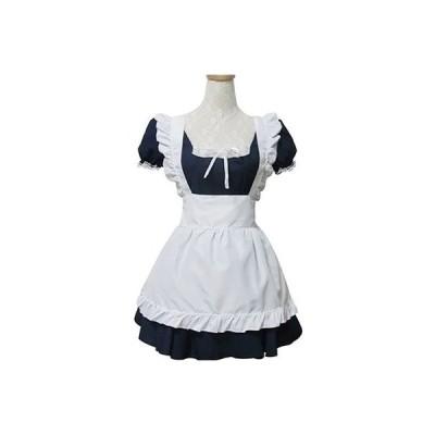 メイド服 コスチューム かわいい ミニスカート コスプレ衣装h2023