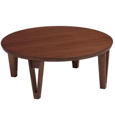 座卓 丸形 折りたたみ 折れ脚  90 円形 ちゃぶ台 丸 テーブル 円卓 送料無料