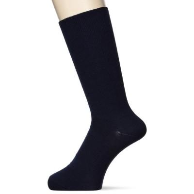 [シースリーフィット] 靴下 ロングソックス(ビジネス) スモークネイビー 日本 L (日本サイズL相当)