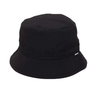 アトモス atmos RIP STOP JUNGLE HAT (BLACK)