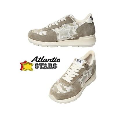 Atlantic STARS レディーススニーカー / VEGA STARS SUEDE Green&White  / 取寄品