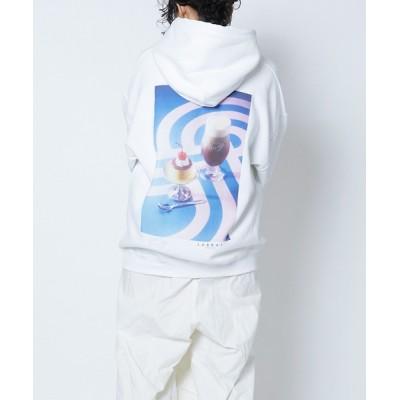 GENERATION / LABRAT/LR-DP-02 DP cremecharamel hoodie WOMEN トップス > パーカー