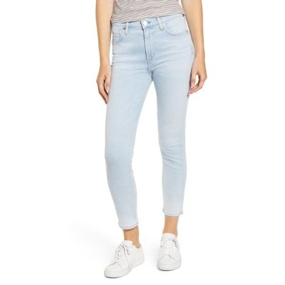 シチズンズ オブ ヒューマニティ レディース デニムパンツ ボトムス Rocket High Waist Crop Skinny Jeans HIGH TIDE BLEA