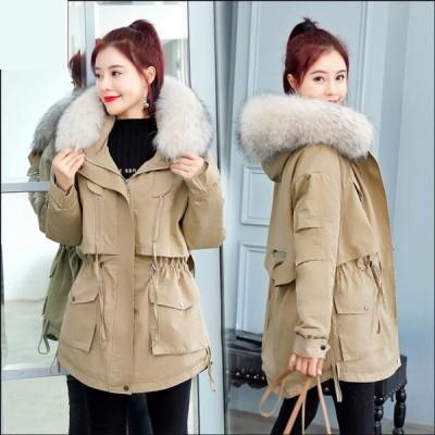 上着 カジュアル 防寒 防風 OL 通勤 暖かい  韓国風 レディース ショート丈コート 中綿ジャケット アウター 学生 希少 通学 上質コート