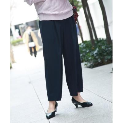 THE SHOP TK(Women)(ザ ショップ ティーケー(ウィメン)) 【ソロテックス】ボリュームタックワイドパンツ/通勤/ONSTYLE