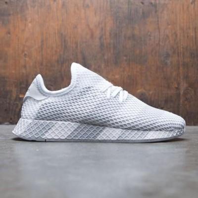 アディダス メンズ シューズ  Adidas Consortium Men Deerupt (white / grey)