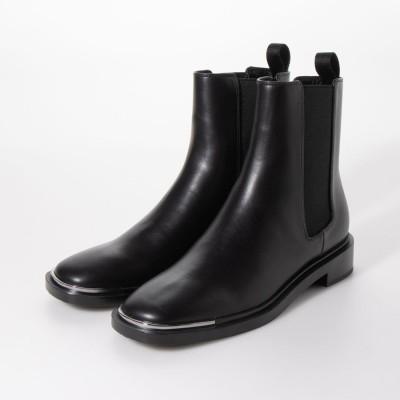 【2020 WINTER】メタルアクセント チェルシーブーツ / Metal Accent Chelsea Boots (Black)