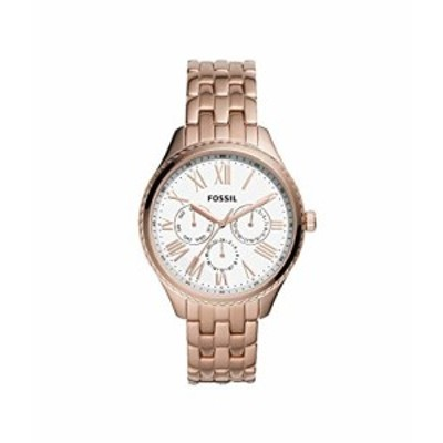 腕時計 フォッシル レディース Fossil Redding Multifunction Rose Gold-Tone Stainless Steel Watch