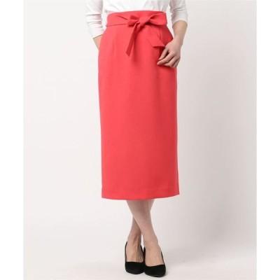 スカート 【Dignite collier】カラータイトスカート