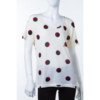 イレブンパリ ELEVEN PARIS Tシャツ 半袖 丸首 16F2 TS151 ALAV7 レディース ALAV7 W アイボリー 目玉商品