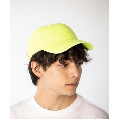 coen メンズ カラーベースボールキャップ2 帽子 イエロー
