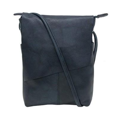 ILI アメリカ 日本未発売 10465187 ili New York 6647 Leather Mini Sac Flap Crossbody (Indigo)
