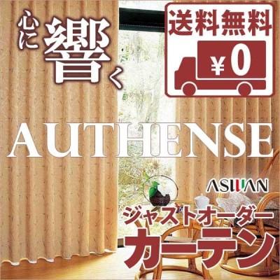 カーテン シェード アスワン オーセンス AUTHENSE ドレープ E8168 ハイグレード縫製 約1.5倍ヒダ 幅100×高さ100cmまで