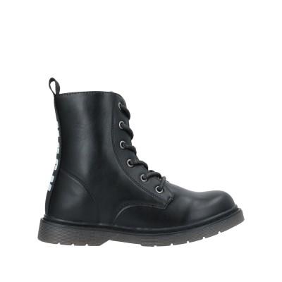 エムエスジーエム MSGM ショートブーツ ブラック 34 紡績繊維 ショートブーツ