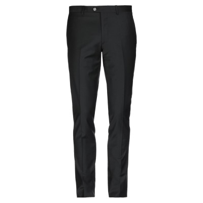 BILLIONAIRE パンツ ブラック 48 ポリエステル 53% / バージンウール 43% / ポリウレタン 4% パンツ