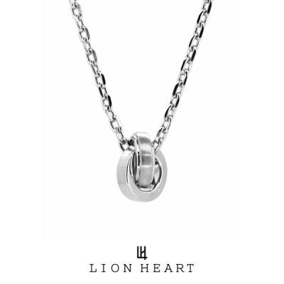 """ライオンハート for Gift """"ブラッシュ""""ダブルリングネックレス/シルバー925 01NE1741SV LION HEART フォーギフト [LH] 誕生日 プレゼント 送料無料 メンズ"""