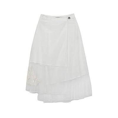 フレアスカート 春 夏 フレア メッシュ マキシスカート マキシ スカート ふわり リゾート 体型カバー ふんわり