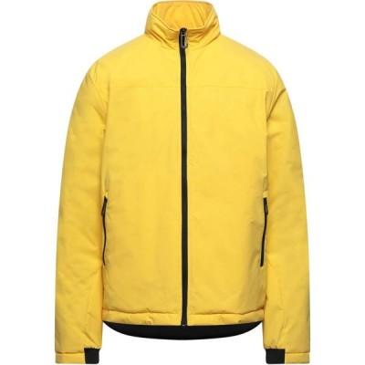 SUNS メンズ ダウン・中綿ジャケット アウター Synthetic Padding Yellow