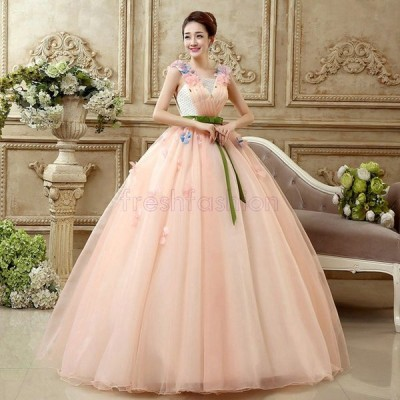 新品人気 ウエディングドレス パーティードレス 結婚式 パーティドレス  ウェディングドレス 花嫁 大きいサイズ カラードレス ベアトップ 演出 二次会 ステージ