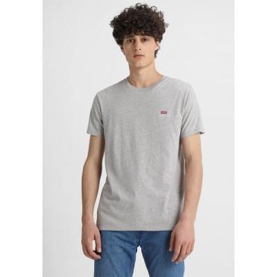 リーバイス Tシャツ メンズ トップス ORIGINAL TEE - Basic T-shirt - tri-blend/gray violet
